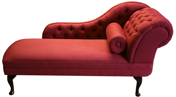 Right_Hand_Chaise_Longue_Red_Customer_fabric www.a1-furniture.co.uk