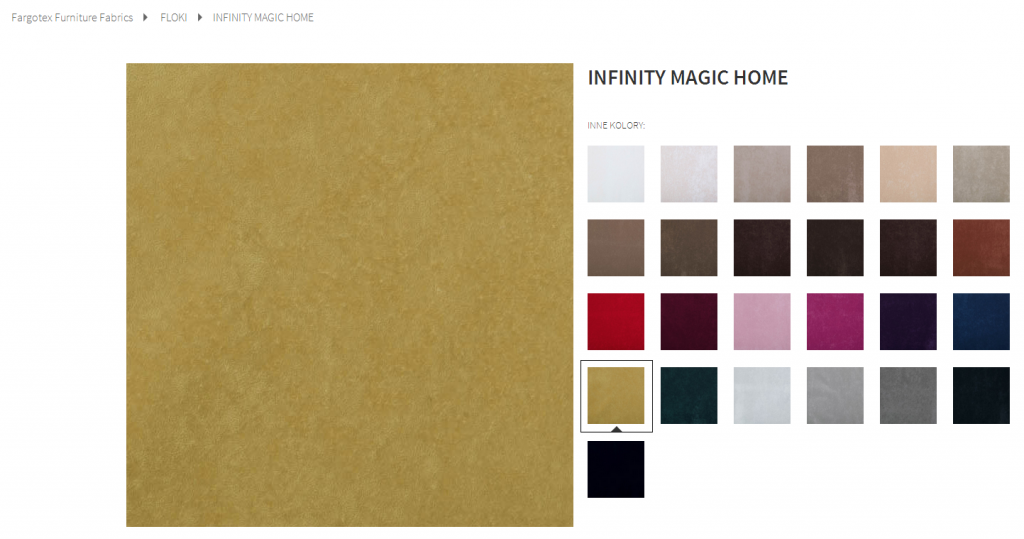 Fargotex - tkanina INFINITY MAGIC HOME