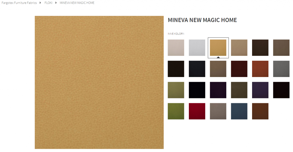 Fargotex - tkanina MINEVA NEW MAGIC